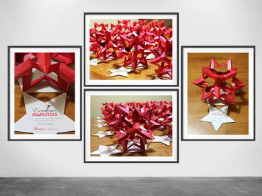 Trofeos Origami