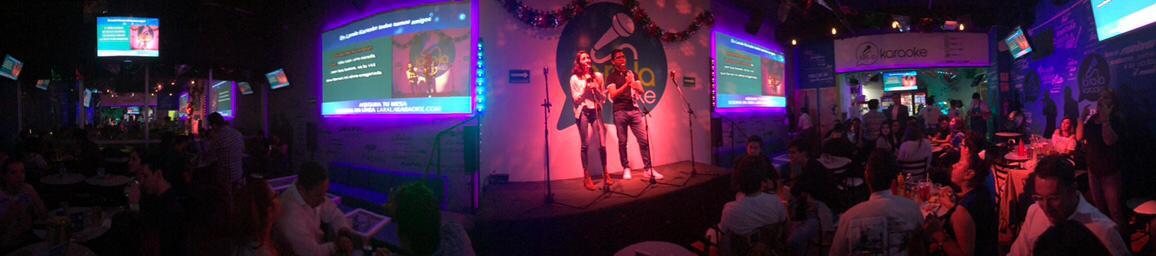 Así se ve Larala Karaoke