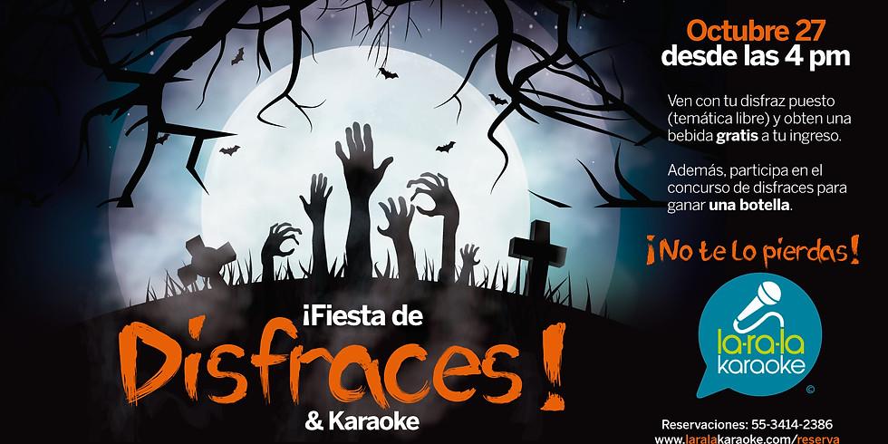 Fiesta de Disfraces Pre-Halloween.