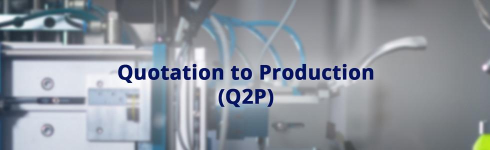 Q2P banner