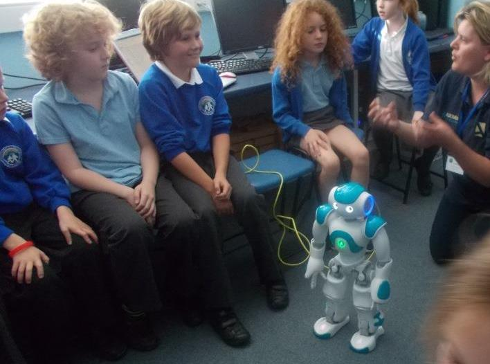 Robot Workshop funded by the PTA