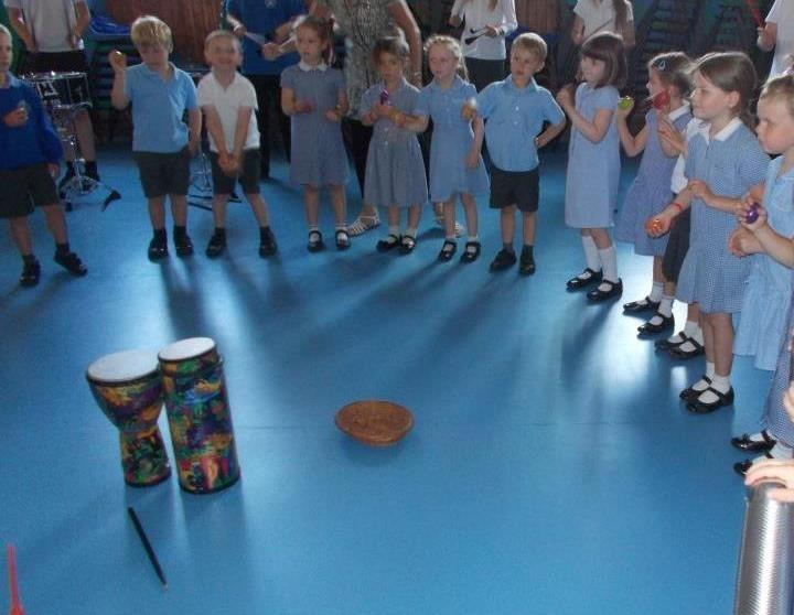 Samba Sessions funded by the PTA
