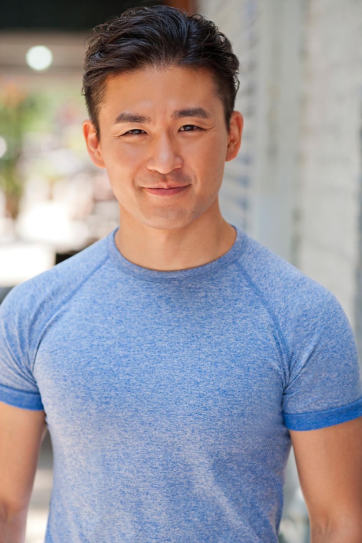 Korean American actor Hugh Cha (차형진)