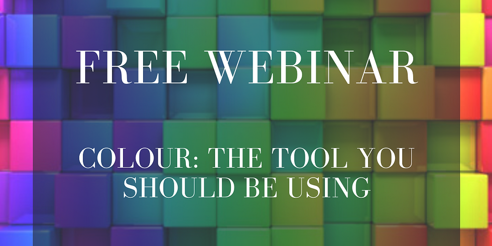 Colour: The tool you should be using.
