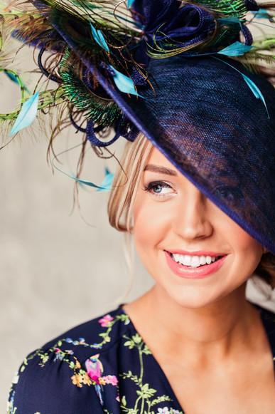 'Peacock' Headpiece