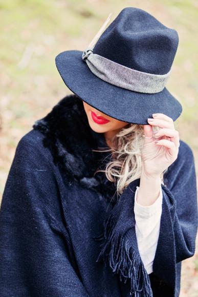 'Jade' Tweed Fedora