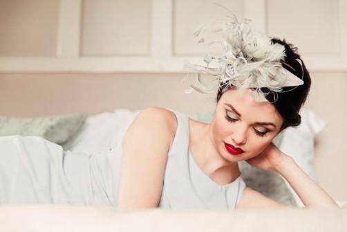 'Mia' Mixed Feather Headpiece