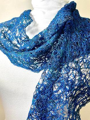 cobalt scarf