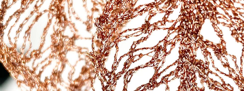 metallic copper