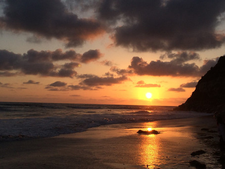 Swami's Sunset photo by Mike Redman