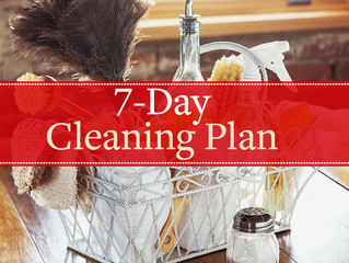 Don't Be THAT House This Holiday Season (7-Day Cleaning Plan)