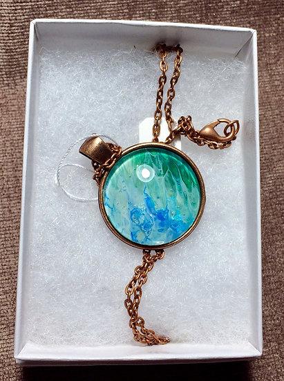 Small round pendant