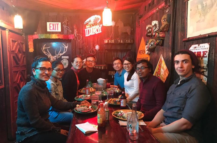 Candian Vascular & Lipid Conference (Lab dinner), Banff, AB, Oct 2019