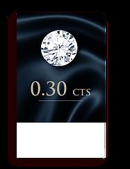 E Color ( 99% )  0.30 Carat , Clarity : VS1