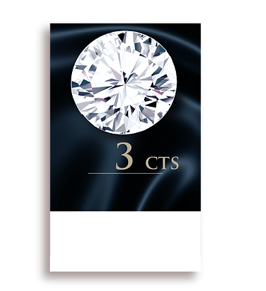 I Color ( 95% )  3.0 Carat , Clarity : VS2