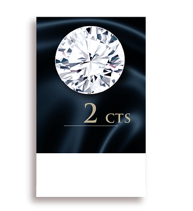 G Color ( 97% ) 2.0 Carat , Clarity : VS2