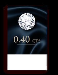 E Color ( 99% )  0.40 Carat , Clarity : VS2