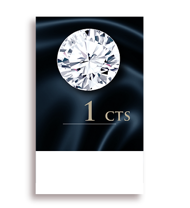 I Color ( 95% ) 1.0 Carat , Clarity : VVS2
