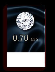 D Color ( 100% ) 0.70 Carat , Clarity : VS1