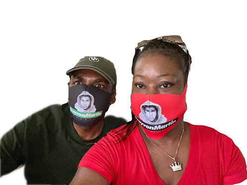 The Trayvon Martin Foundation Face Mask
