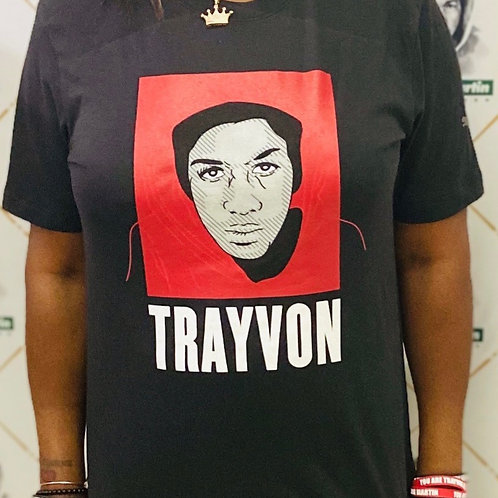 Limited Edition Trayvon Martin T-Shirt Black