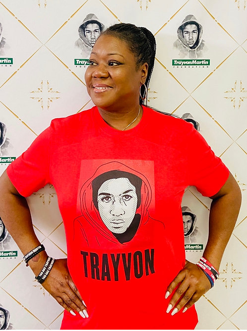 Limited EditionTrayvon Martin T-Shirt Red