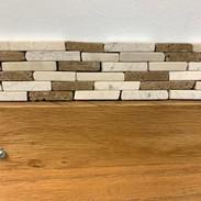 tumbled stone listello/variadonavona 2x10