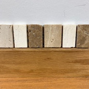 tumbled stone listello-havana 1.5x10