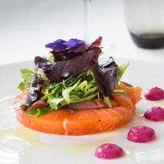 Photo culinaire-Gravela de Saumon