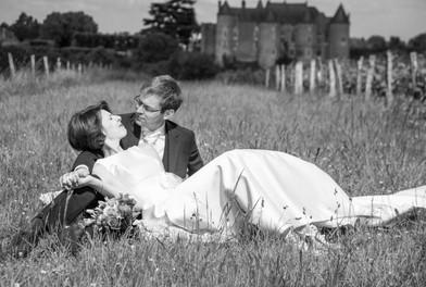 reportage mariage idre et loire