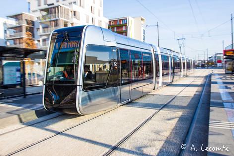 Tramway à Tours