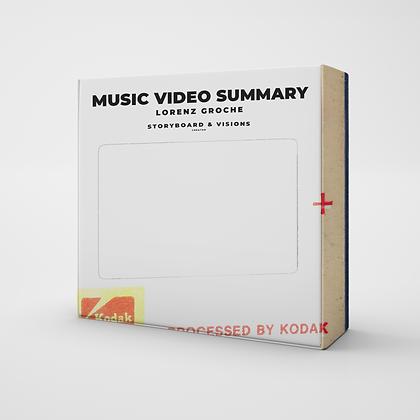 MUSIC VIDEO SUMMARY | PLANNER