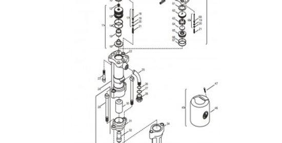 Refacción para rompedora CP 1210