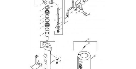 Refacciones para cinceladora 0222