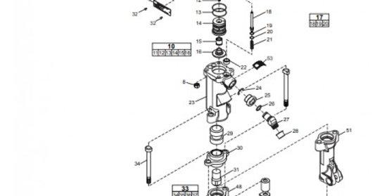 Refacción para rompedora CP 1260