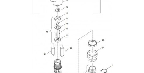 Refacción para cinceladora CP 4123