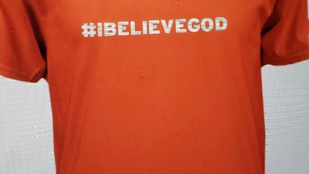 T Shirt (#I believe God)