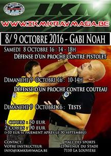 Stage IKM - Gabi Noah le 8 & 9 octobre