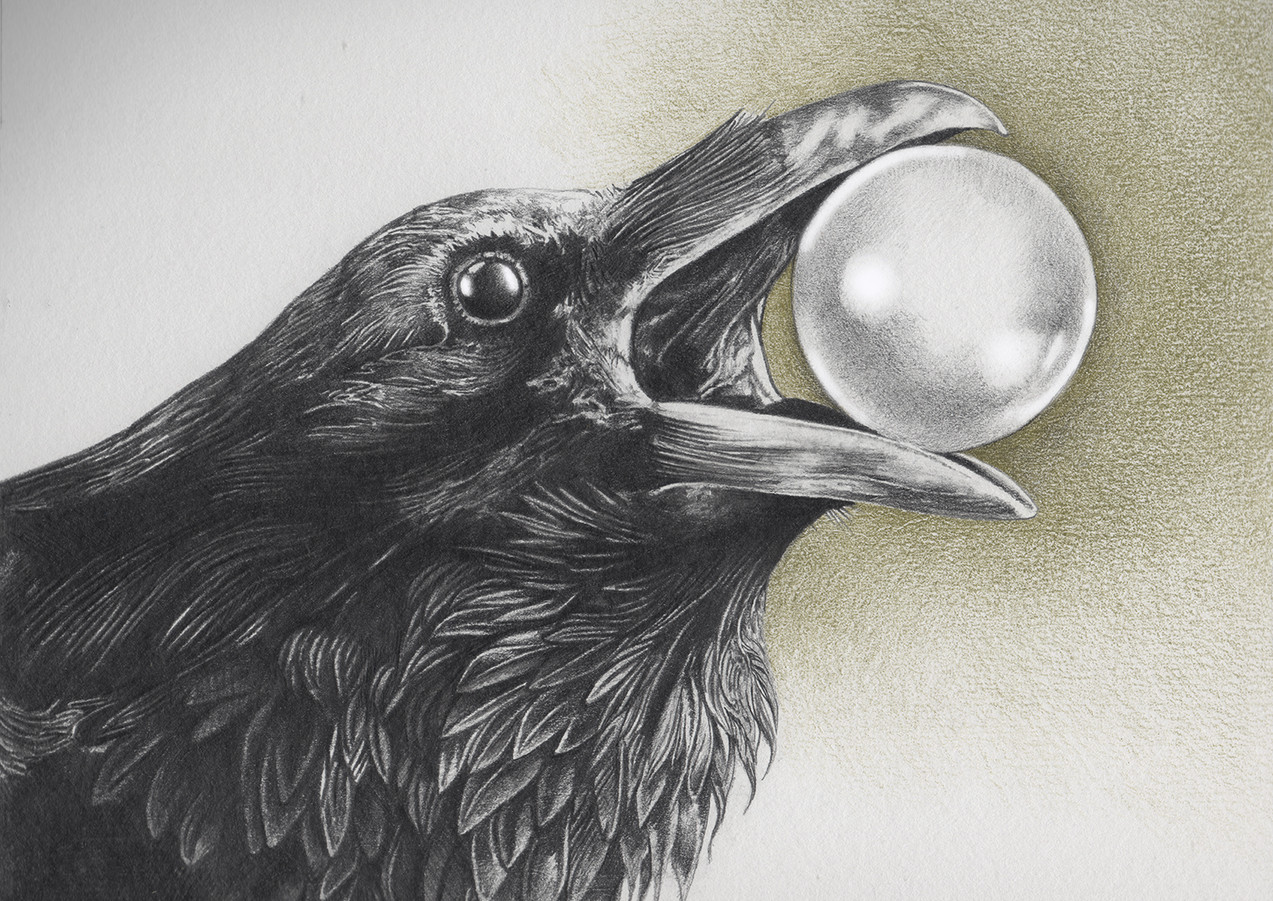 The Crow who Swallowed the Moon