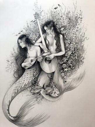 Mermaid Spot ilustratio