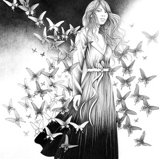Mab with Butterflies