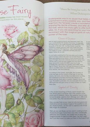 The Rose Fairy - Double page spread