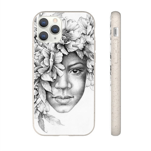 Crowned with Flowers - A Biodegradable phone case