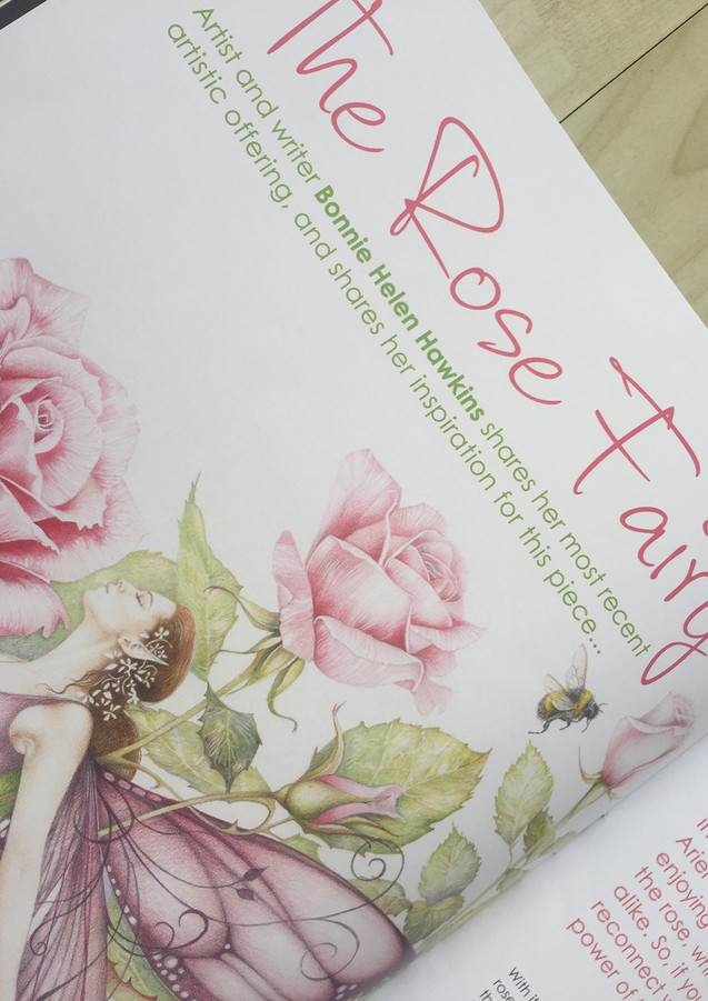 The Rose Fairy - Title Page