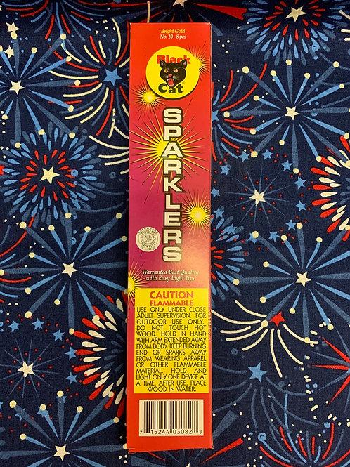 Black Cat Bamboo Sparklers 12pk