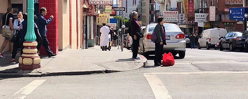 Street view of Chinatown in San Francisco