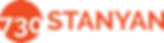 Logo of the 730 Stanyan project: orange circle overlaid with white numbers, orange text
