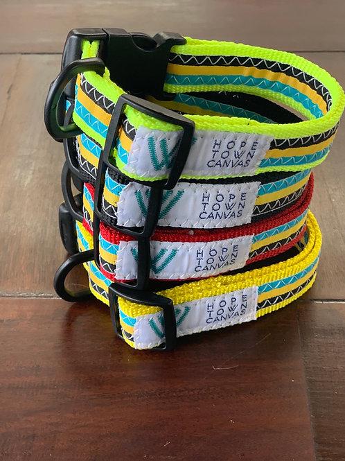 Bahamian Flag Dog Collars