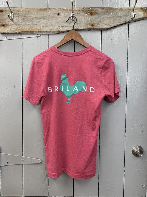 BRILAND Tee Pink