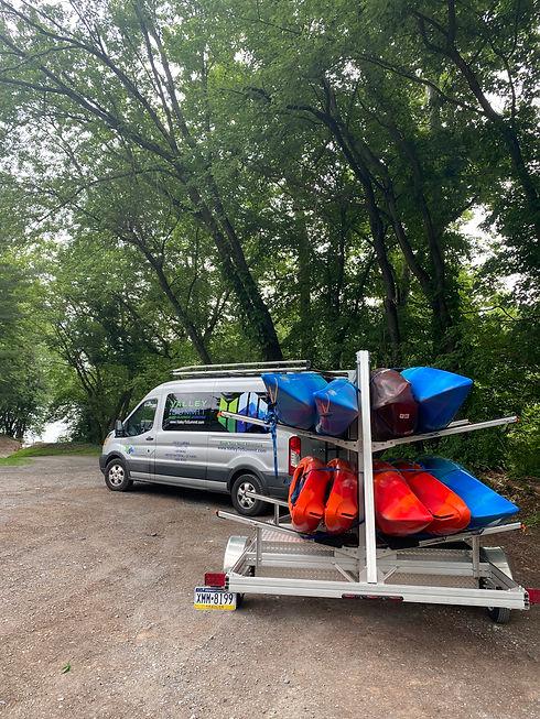 kayak the schuylkill river